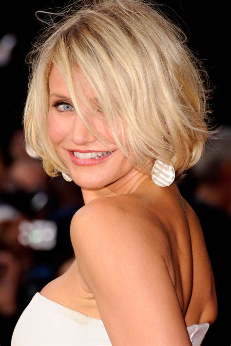 hairstyles cameron diaz bob hairstyles for fine hair fine hair bob hairstyle and bobs