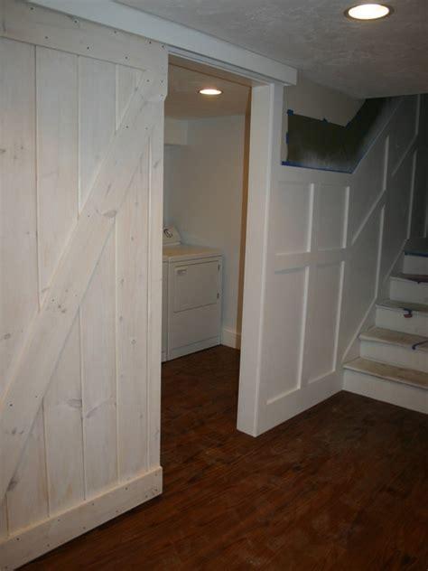 basement laundry sliding door b k house