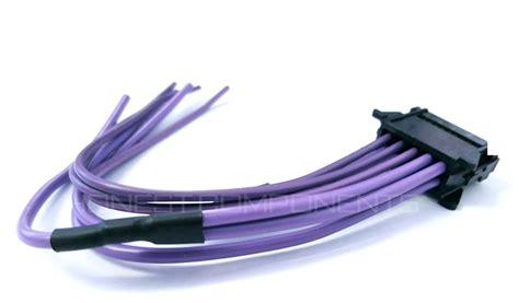 renault megane heater blower resistor fix repair kit renault scenic 2 megane 2 heater blower resistor wiring loom harness ebay