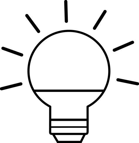 imagenes para colorear objetos clipart light bulb