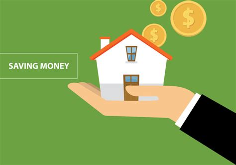buy a house for free saving money to buy a house free vector in adobe illustrator ai ai vector