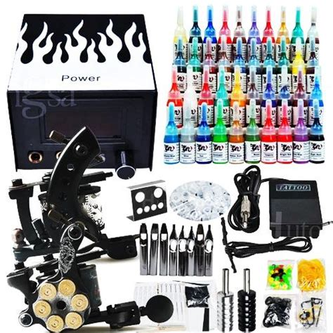 cheap tattoo kits with free shipping professional complete cheap kits 2 guns machines 40