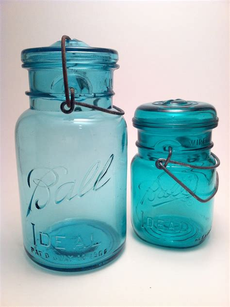 beautiful aqua ball canning jars zounds