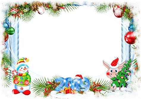 marcos de fotos  year  happy snowman