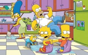 'the simpsons' voice cast staying intact after harry