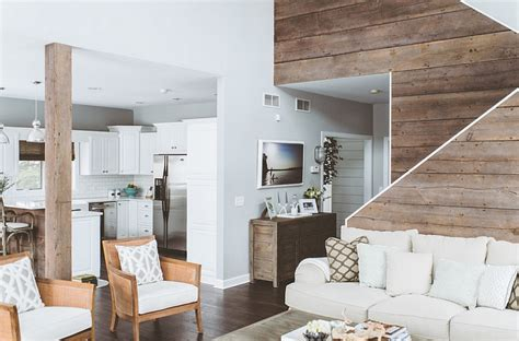 Serene Bedroom Ideas breezy summer house on lake wisconsin clad in chic modern