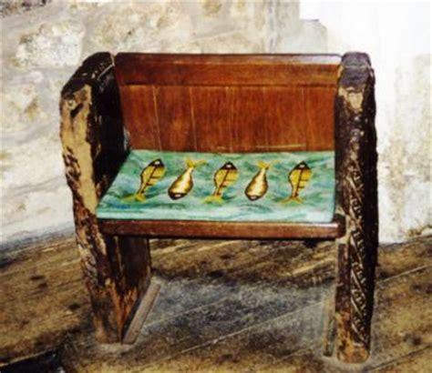 The Mermaid Chair by St Senara S Church The Mermaid Of Zennor