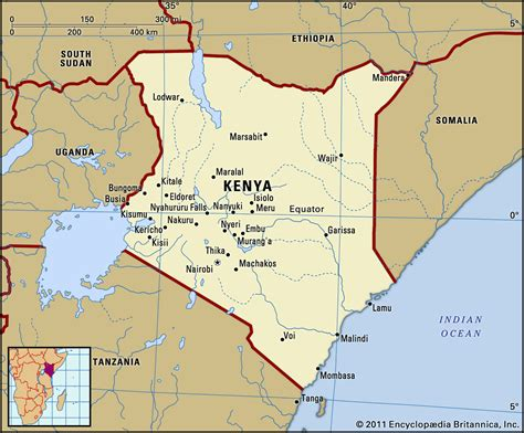 map of kenya emmabwi kenya child survival project intellitect