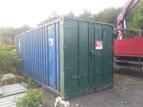 second storage containers secondhand portable buildings storage and racking 20ft