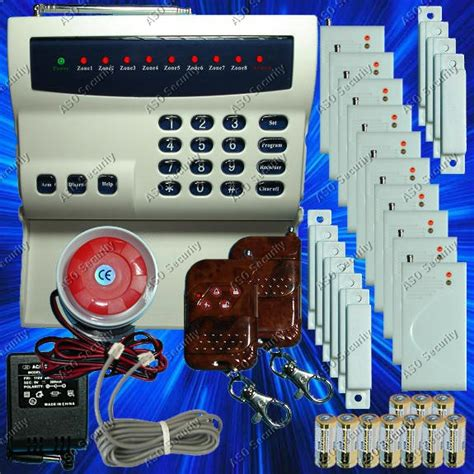 wireless home security system led burglar alarm