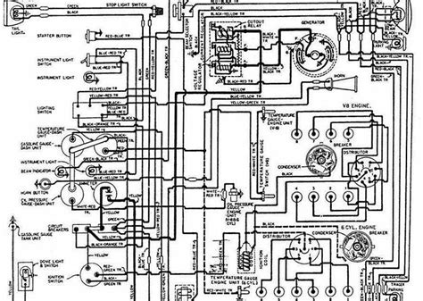 wiring diagram for 1948 1949 ford trucks all about