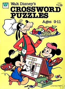 1982 Disney Film Xword | retro reprints the world s one true coloring book archive