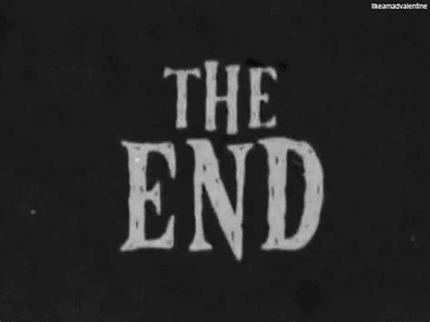 The 1 2 End By Rikachi the end gif find on giphy