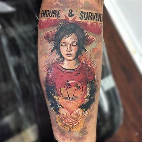 the last of us tattoo can you endure and survive artist magazine
