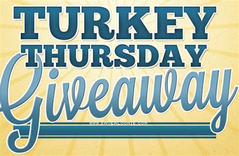 Thursday Giveaway - butterball turkey thursday giveaway