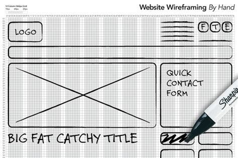 how to wireframe using 960 gs illustrator hướng dẫn cơ bản wireframing trong thiết kế web