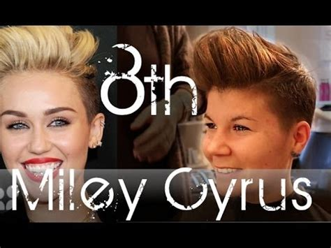 whats the haircut called that miley cyrus has miley cyrus haircut have you ever done anything crazy