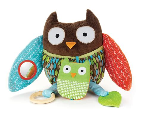 Owl Play Time skip hop hug and hide activity owl