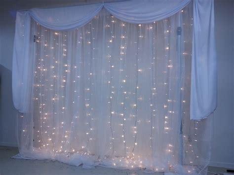 curtain lights for wedding backdrop lights light backdrops for weddings at