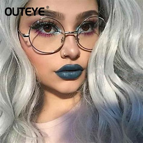 transparently trendy the clear glasses retro round eyewear clear glasses spectacles optical eye