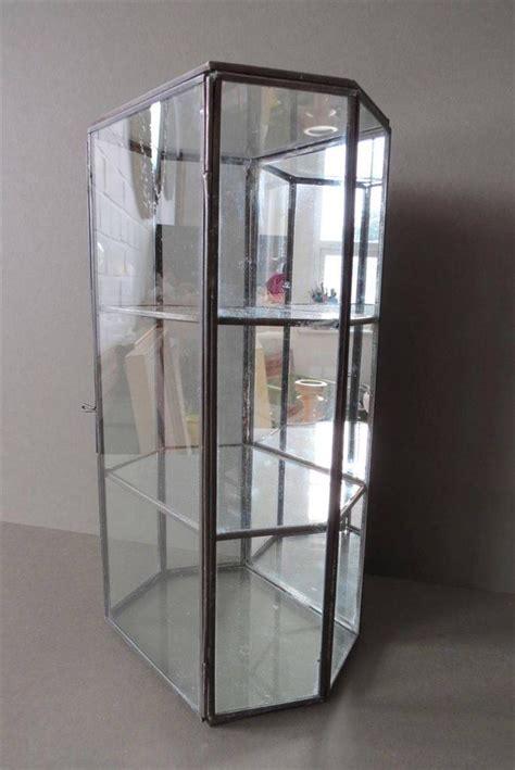 wall display cabinet glass table jewellery trinket