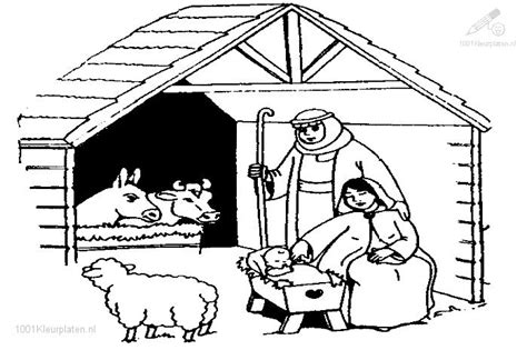 search results for nativity scene colouring page