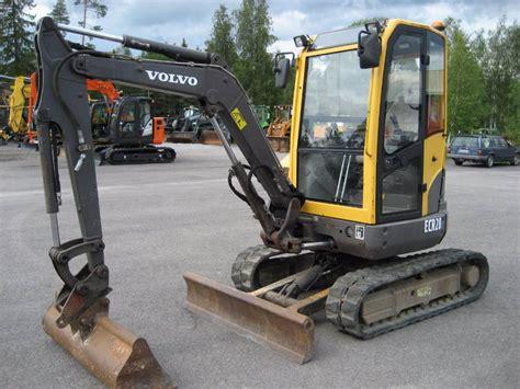 used volvo ecr28 mini excavators