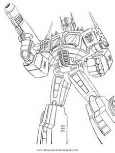 Optimus prime para pintar colouring pages page 2