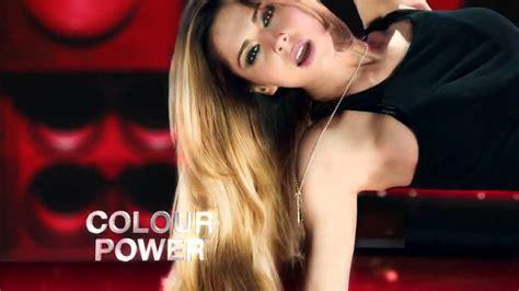 hair color commercials 2014 cheryl cole l oreal paris feria hair colour advert 2014