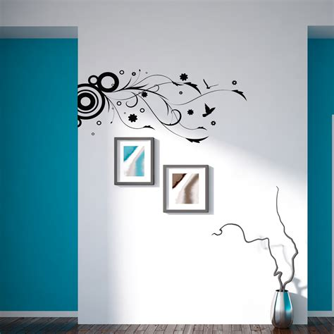 abstract wall stickers abstract nature wall sticker removable wall stickers and wall decals
