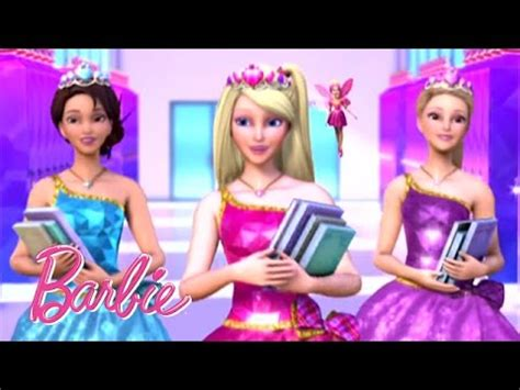 barbie princess charm school 2011 barbie movies watch princess charm school movie trailer spanish barbie