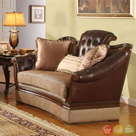 formal sofa sets traditional medium cherry formal sofa set with tufted