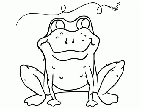 silly frog coloring page free printable frog coloring pages for kids