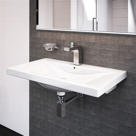 Ceramic Tile Bathroom Ideas Pictures Auckland 500mm Wall Mounted Basin
