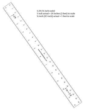 printable ruler half inch hobbyist half inch scale ruler printable ruler