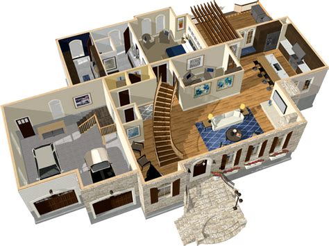 Free 2d 3d Home Design Software home designer pro
