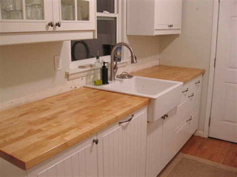 Butcher Block Countertop by Planning Ideas Staining Butcher Block Countertops