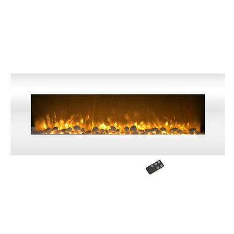 northwest 50 in no heat electric fireplace color changing