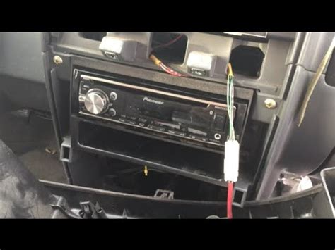 electric and cars manual 1999 nissan frontier navigation system 2000 2004 nissan frontier pioneer deh x6700bt stereo install replacement youtube
