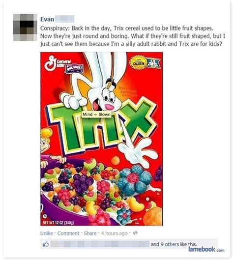 Trix Cereal Meme - trix aren t for adults ruined adulthood know your meme