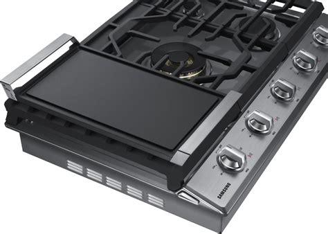 Gas Cooktop Btu Ratings - samsung na30k7750t 30 inch gas cooktop with 5 sealed