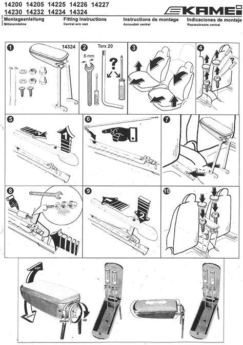 Kamei Dachbox Lackieren by Kamei Mittelarmlehne Stoff Vw Jetta 01422521 Ebay