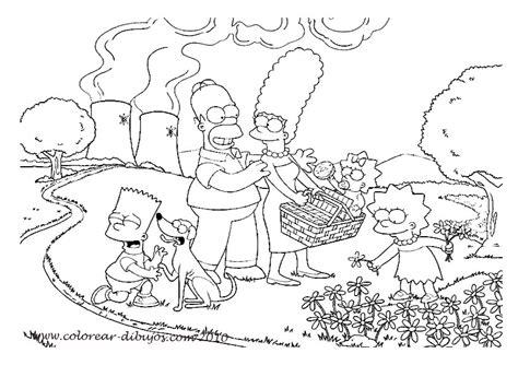imagenes navideñas de los simpson para colorear dibujos de los simpson para colorear e imprimir imagui