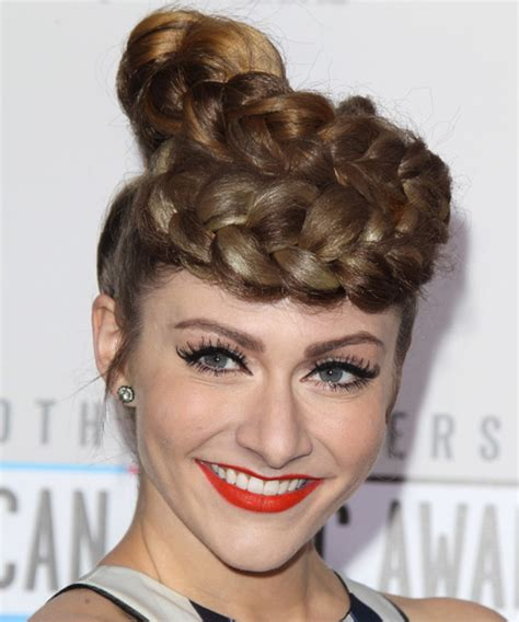 homecoming hairstyles for big foreheads amy heidermann updo long straight formal braided updo