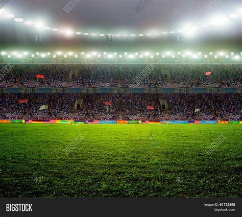 field pattern en francais on stadium abstract football image photo bigstock