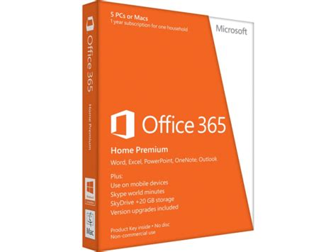 Office 365 Zoom Microsoft Office 365 Home 32 64 Bit Subscription Hp