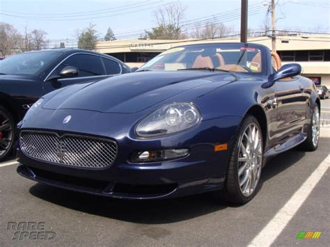 maserati dark blue 2006 maserati gransport spyder in blue nettuno dark blue