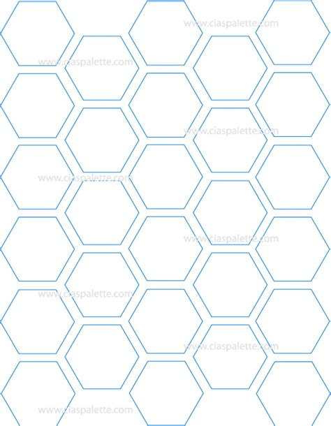 free printable hexagon template hexagon printable printables hexagon