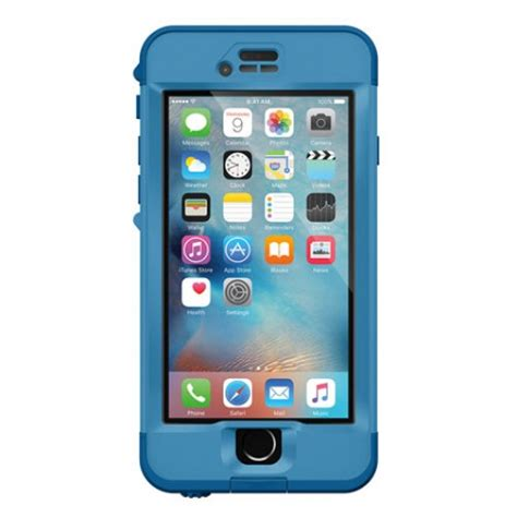 lifeproof nuud case suits iphone   blue cases