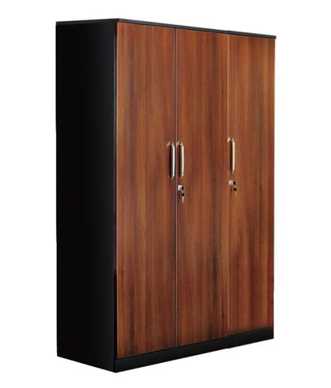 Wenge Wardrobe by Nilkamal Florence 3d Wardrobe Wenge Wallnut Buy At Best Price In India On Snapdeal